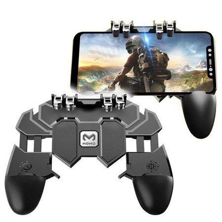 Мобильный геймпад триггер контроллер джойстик Pubg Доставка Шымкент