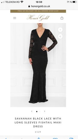 Rochie Honor Gold