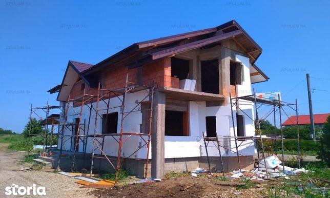 Casa 4 Camere cu Toate Utilitatile si 480 mp Teren in Crevedia