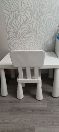 Детский стол Ikea + стул