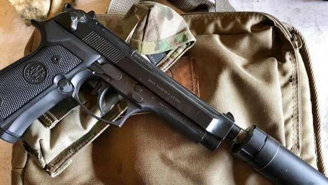FORTA DUBLA-Modificat Pistol Airsoft Co2 Beretta/Taurus Aer Comprimat
