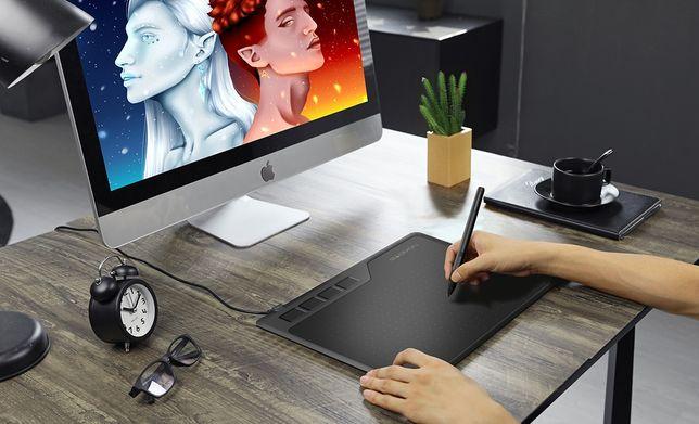 Новый Графический планшет Gaomon S620 +перчатка макс комплект