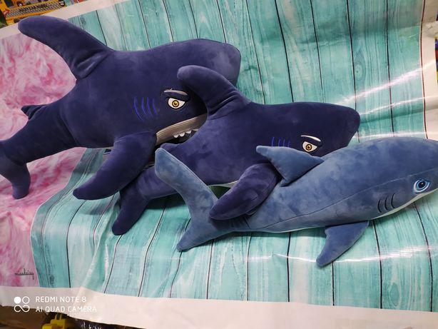 Мягкие акулы мягкие игрушки