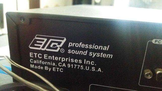 усилитель микшер ETC HC 2000.PROFESSIONAL DSP