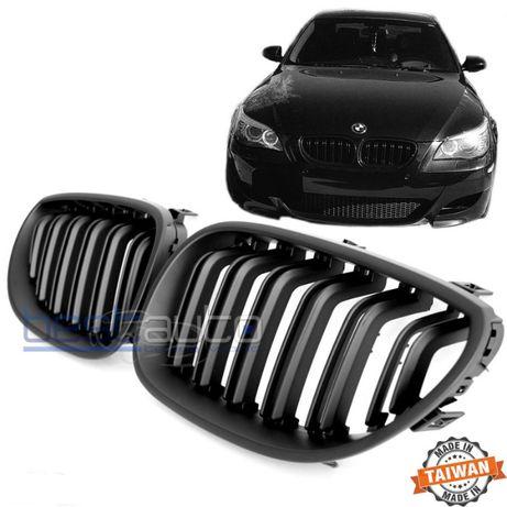 М5 тип Двойни черен мат Бъбреци/решетки за BMW E60 Е61/БМВ Е60 Е61