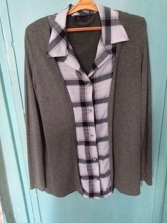 Блузка шерстянная