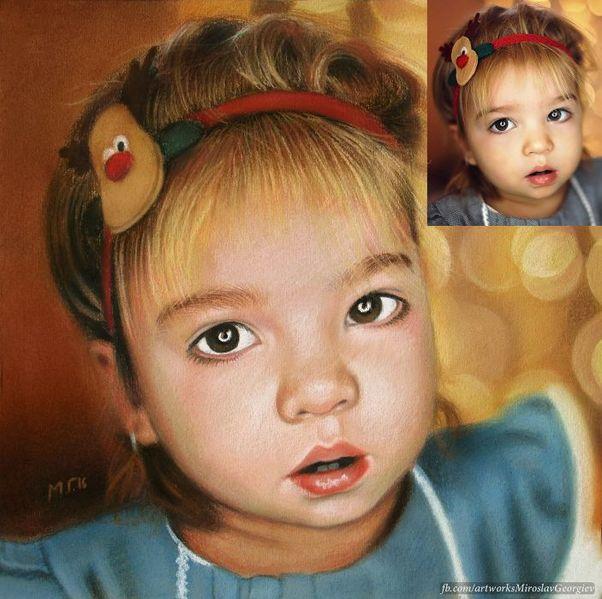 Рисувам портрети по снимка гр. Бургас - image 1