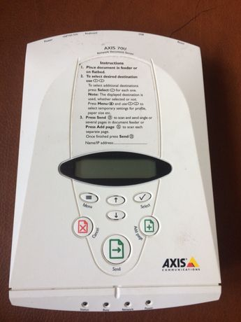 Axis network document server