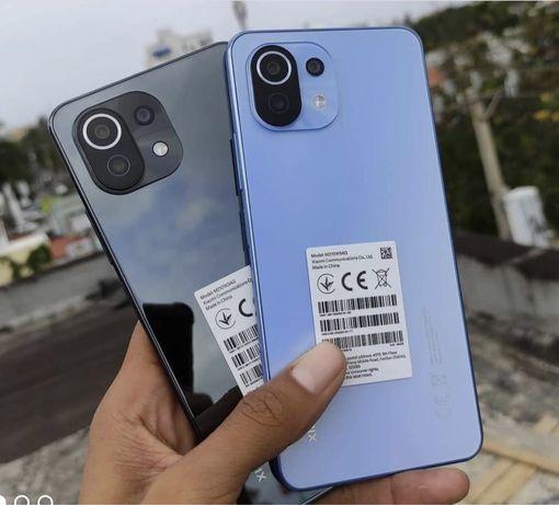 Мобильный телефон Xiaomi Mi 11 Lite 128 ГБ / ОЗУ 6 ГБ black blue rose