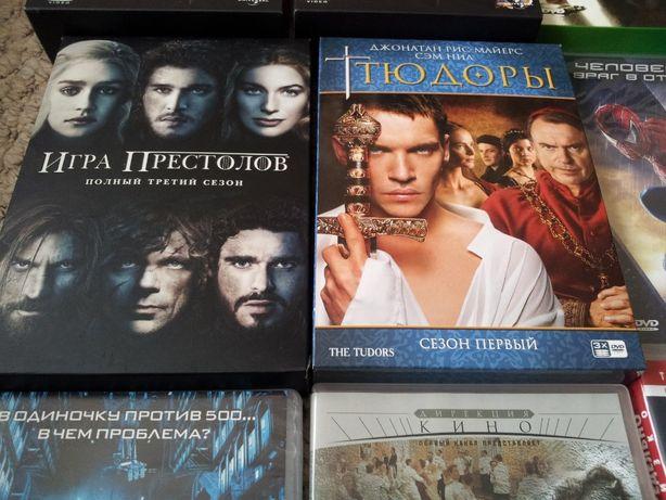 DVD фильмы лицензионные коллекцион. новые