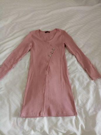 Розова лятна рокличката +подарък