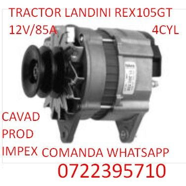 Alternator tractor Landini REX 105GT