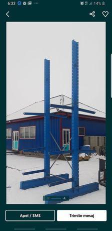 Vând rafturi cantilever pentru depozitare 15 picioare pe stoc la super