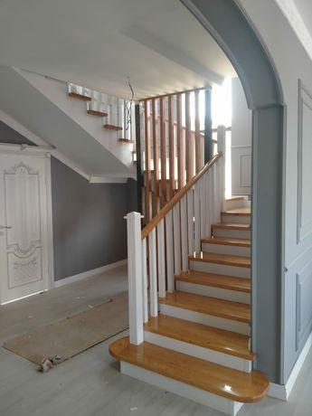 Изготовления и обшивка лестниц