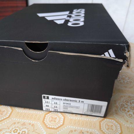 Pantof tenis Adidas Adizero Ubersonic 3 AC, nou, original, 900 lei!