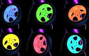 покраска титановых дисков. покраска авто. покраска деталей,