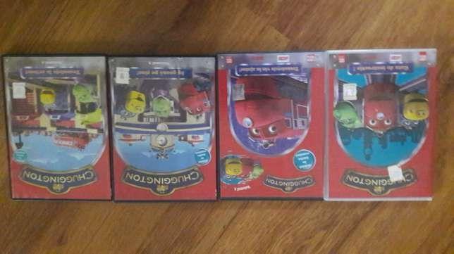 Trenulete Chuggington 4 DVD uri noi, in colectie dublate