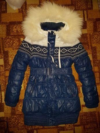 Пуховик зимняя куртка Danilo 146 рр на 8-13 лет