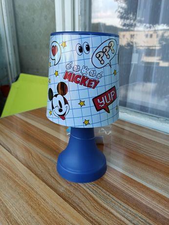 Детска лампа Mickey Mouse