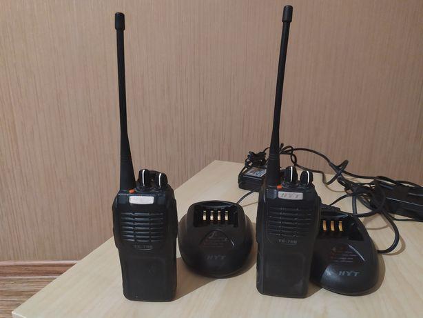 Продам 2 комплекта Раций HYT TC-700