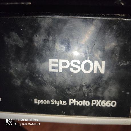 Принтер цветной,  Epson на запчасти