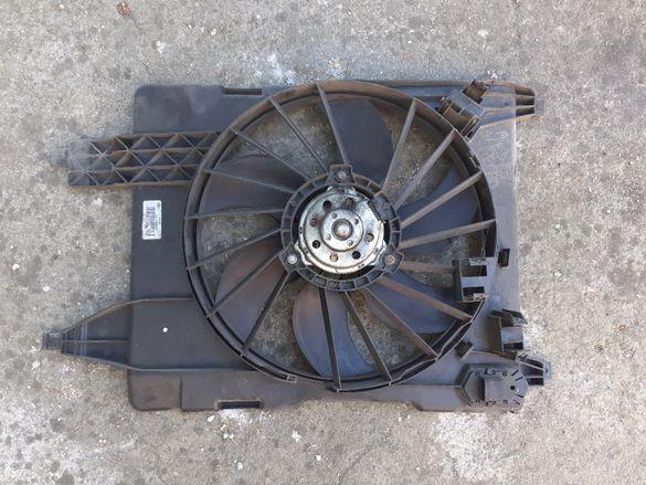 Вентилатор, серво усилвател, спирачна помпа, дебитомер Renault Scenic