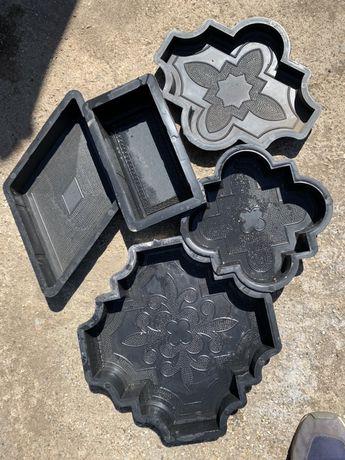 Matrite forme pavaj pavele polipropilenă beton tipare