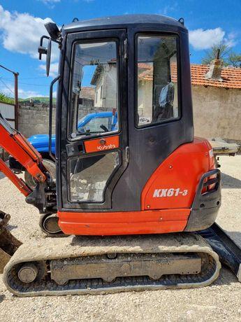 Miniexcavator Kubota KX61-3, 3t,  stare exceptionala, unic proprietar