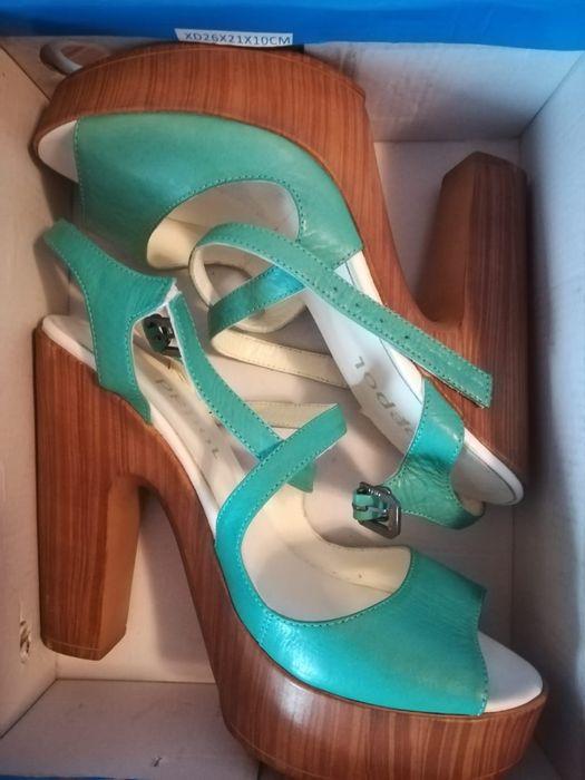 Sandale piele noi mărimea 38 Brasov - imagine 1