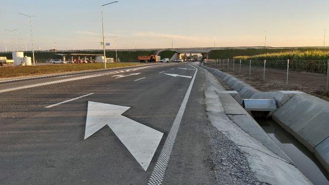 Teren la autostrada Borș- Biharia