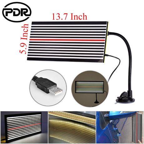 Рефлекторен шаблон със стойка и лапма за PDR технология