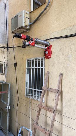 Gaura Hota,carotare beton, gauri in beton, bca, gaura centrala, burlan