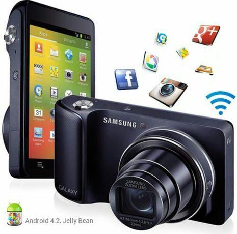 Samsung Galaxy Smartphone Camera cu Android