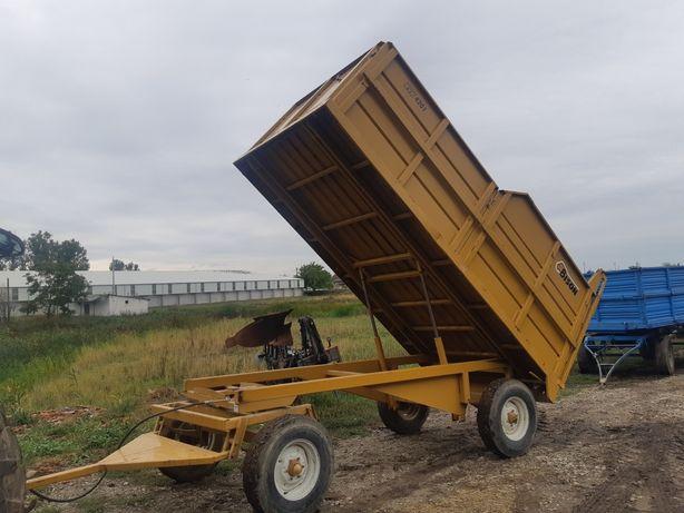 Remorca 6 tone basculabila basculanta spate