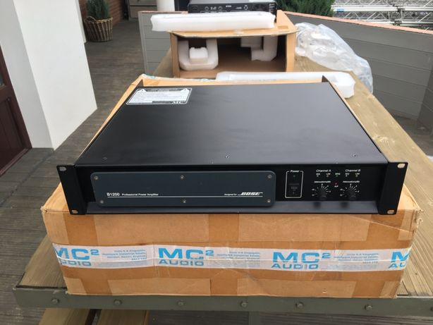 Amplificator High End MC2/Bose B1200 (Function One/Martin Audio/EV)