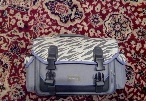 противоудърна чанта за фотографска техника Hama 40см.