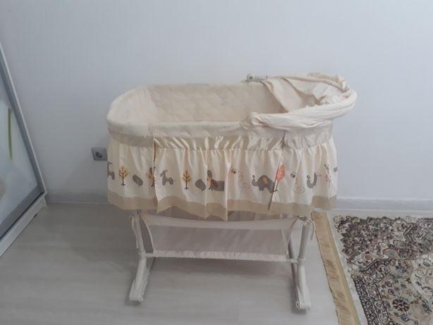 Люлька кровать почти новая