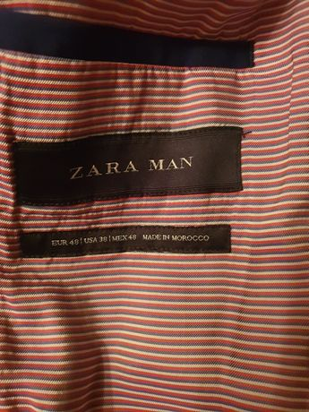 Costum Bleumarin Zara