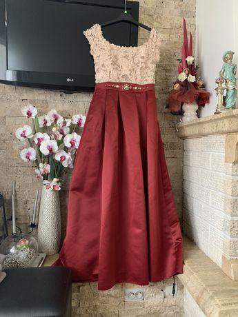 Rochie tafta eleganta lunga