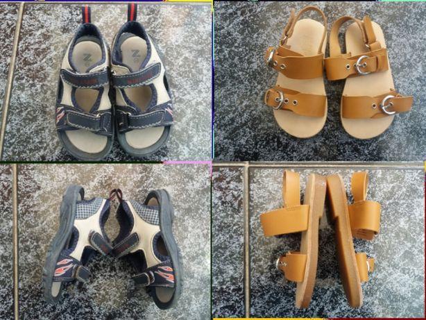 sandale zara, piele naturala-23,24