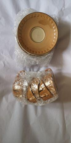 set vechi turcesc din lut servit cafea 5 piese