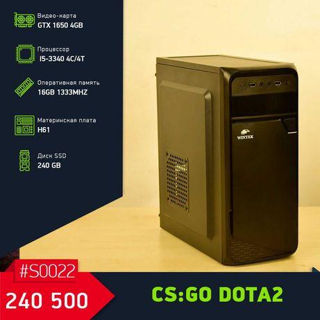 Игровой Компьютер на i5-3340/GTX1650 4GB/16GB