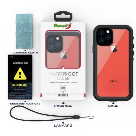 360 кейс Red Pepper водоустойчив iPhone 11, 11 Pro, 11 Pro Max, X, XS