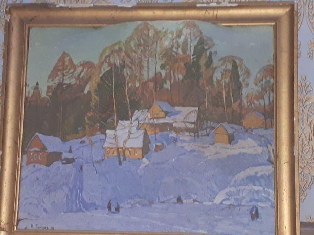 Картина Н.Титков  1971г