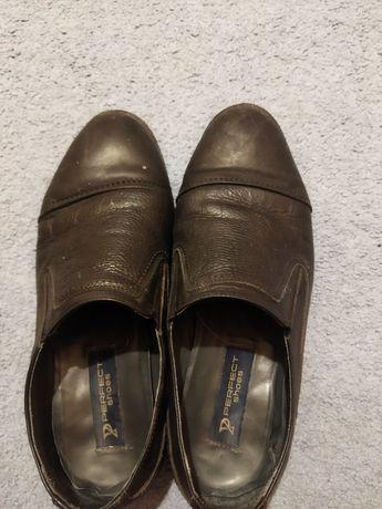 Туфли кожные 41 -42подойдет