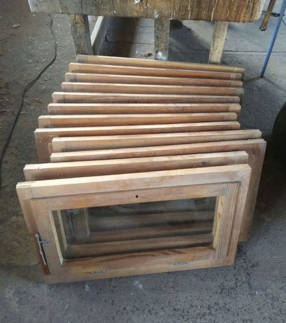 Fereastra casa lemn geam simplu H 47 x L 78 . Buc 22