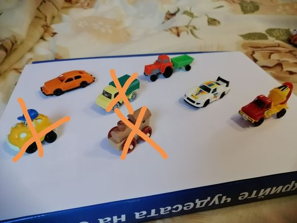 Kinder 4 играчки