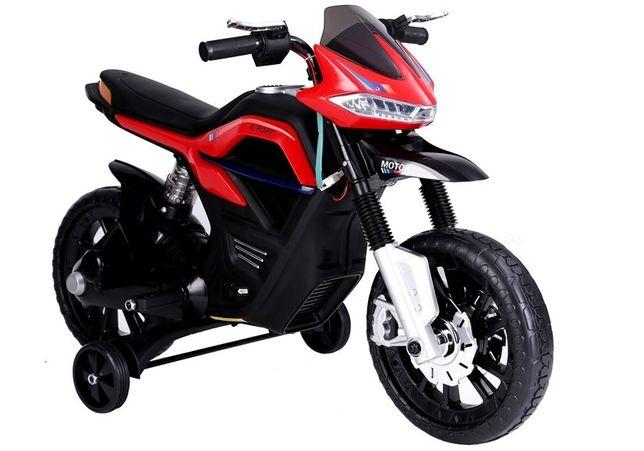 Motocicleta electrica pentru copii BJT5158 45W 6V STANDARD #Rosu
