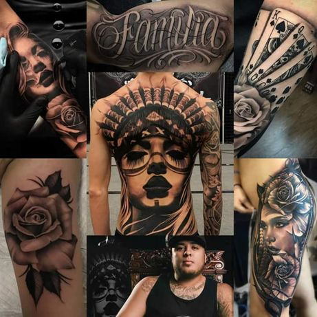 Tatuaje semipermanente /temporare 3D