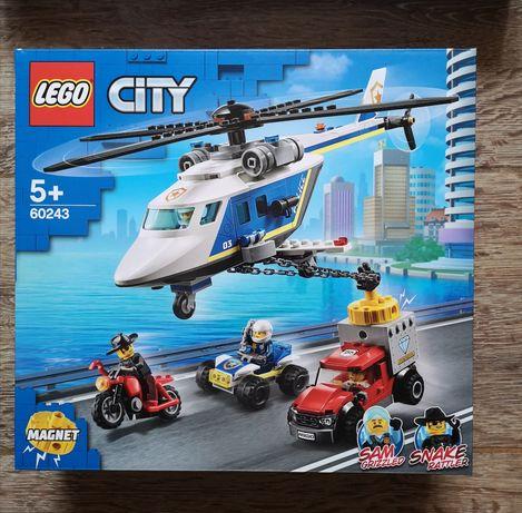 LEGO® City Police - Urmarire cu elicopterul politiei (60243) - sigilat
